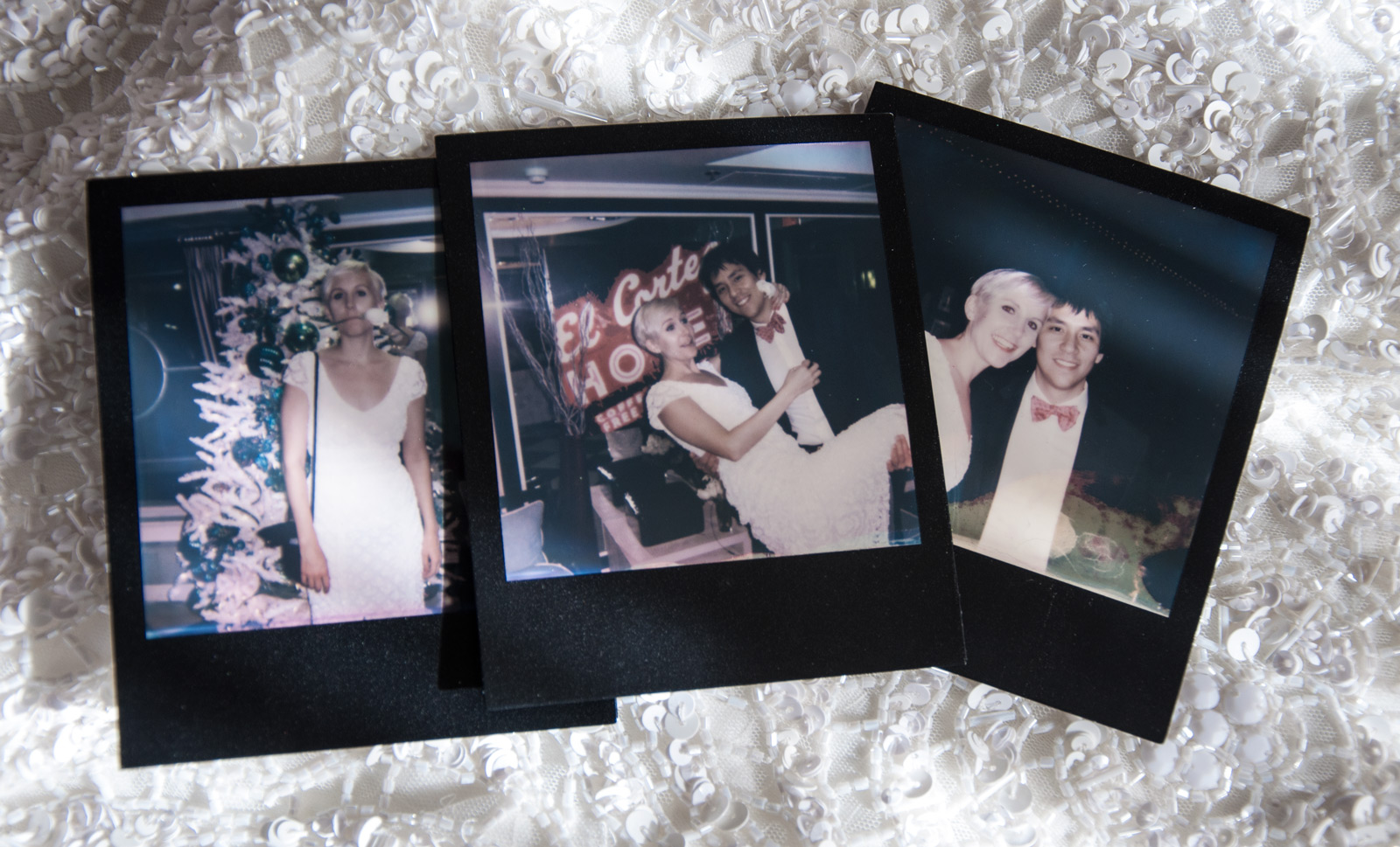 Las Vegas Wedding Polaroids
