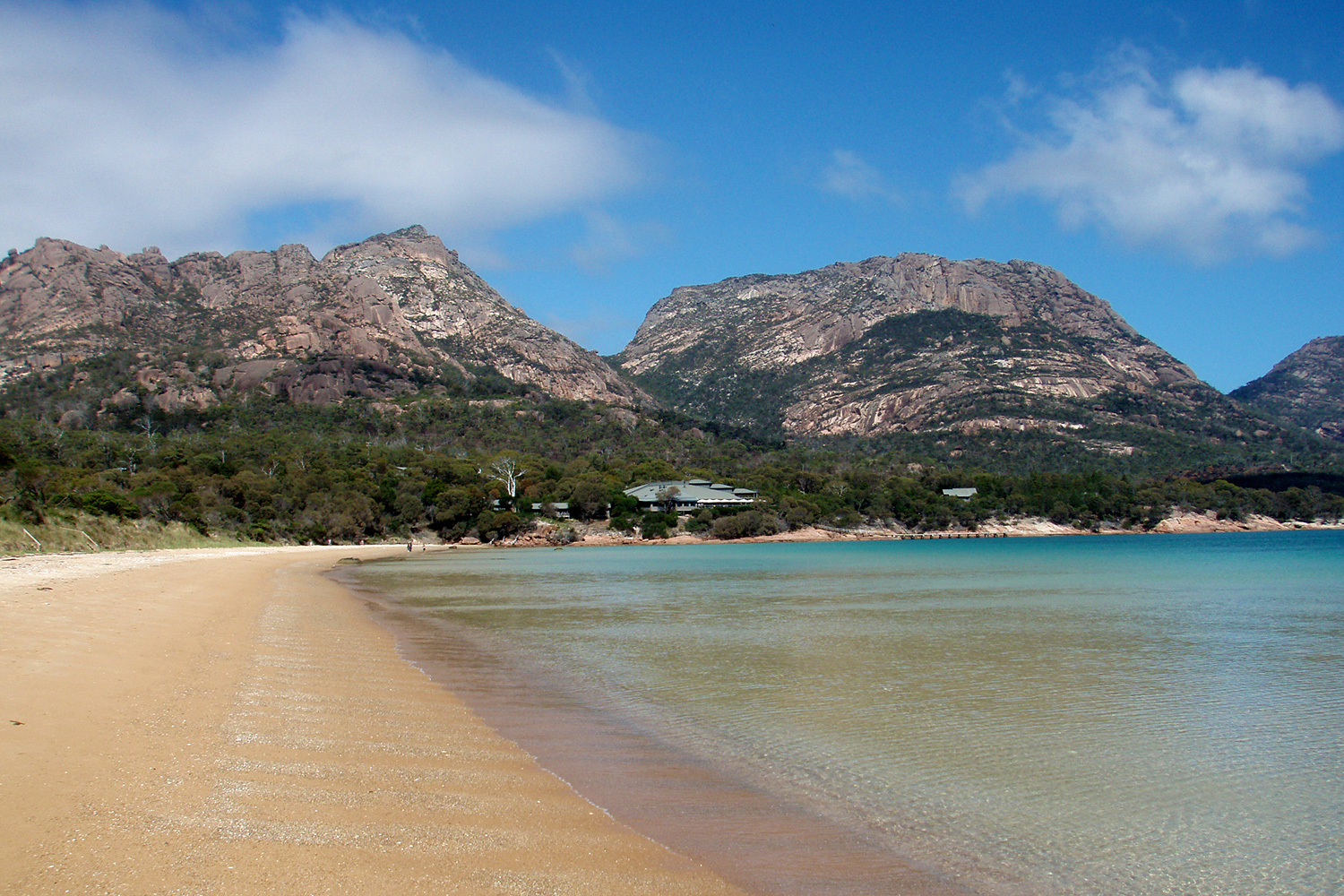 Freycinet Lodge from Richardsons Beach