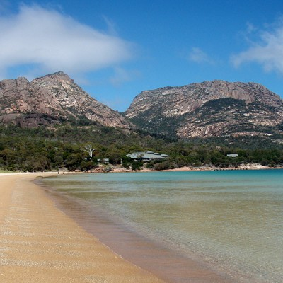 Waitressing in Freycinet