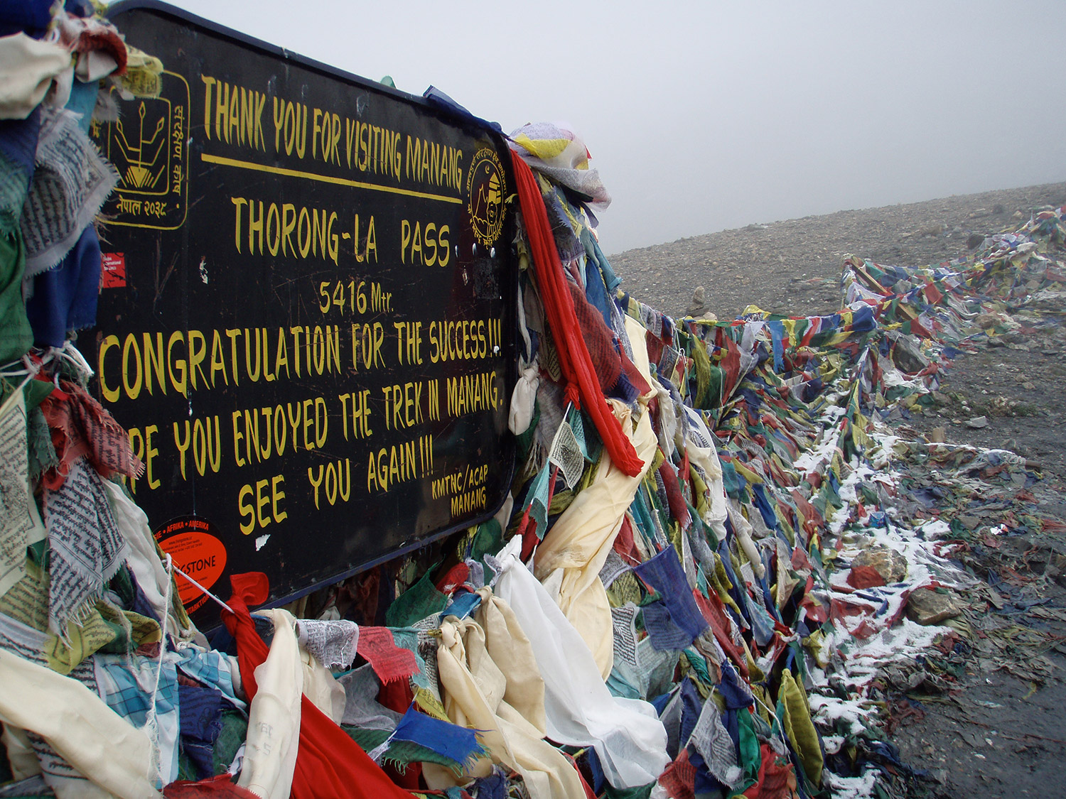 Thorong-La Pass, 5416 meters