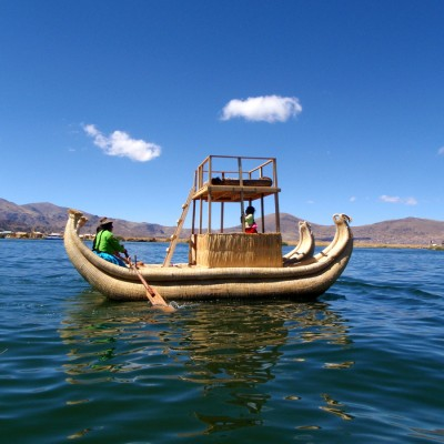 Uros Floating Islands – Lake Titicaca