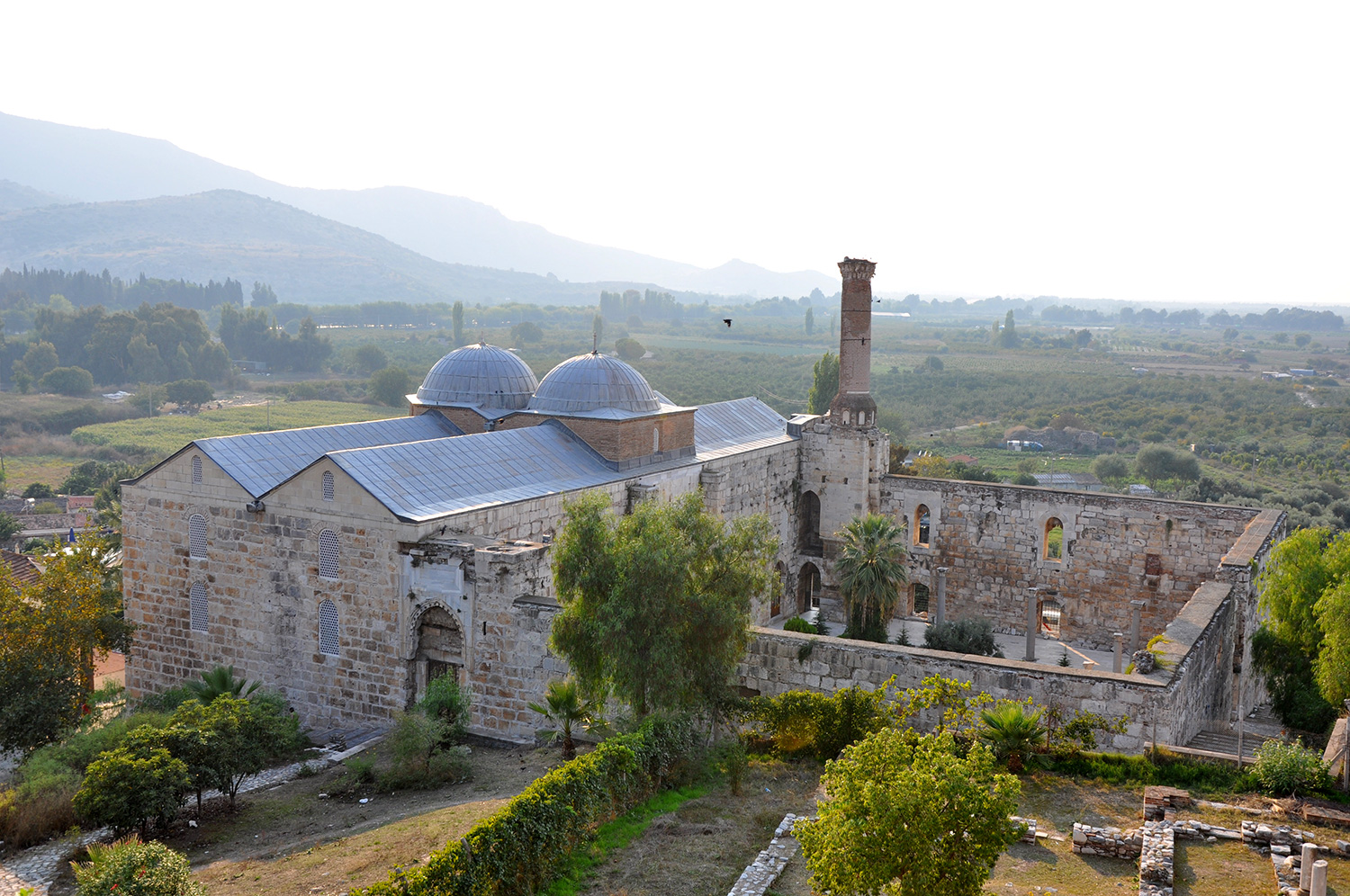 The Isa Bey Mosque on Ayasoluk Hill
