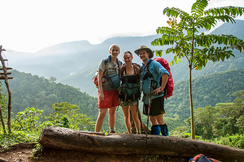 First day on the trail to Ciudad Perdida