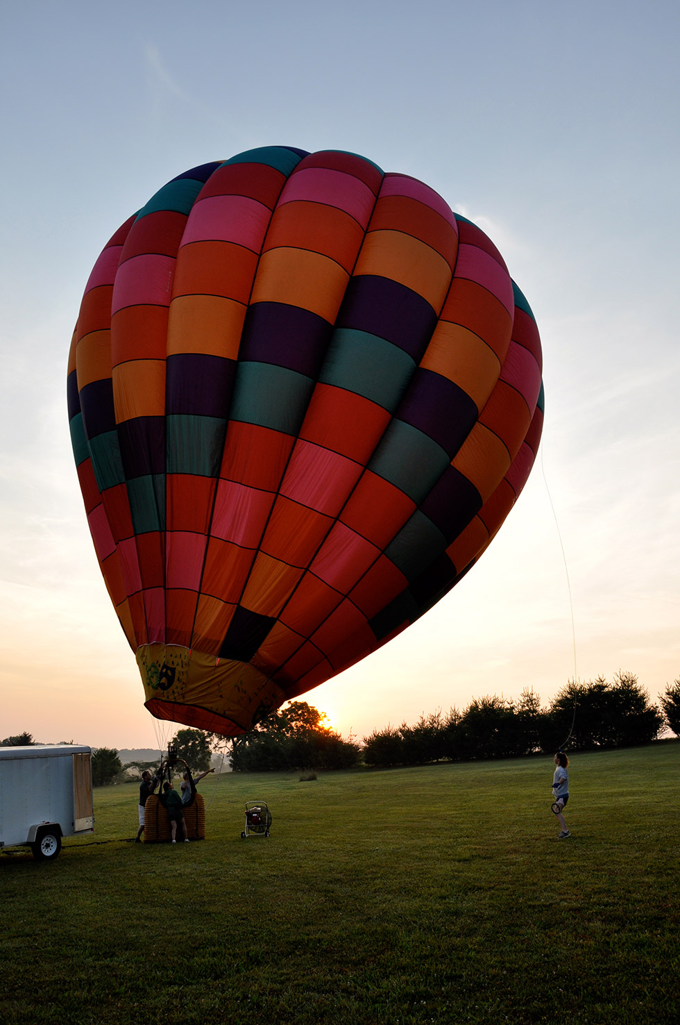 Shenandoah Valley Hot Air Balloon Ride