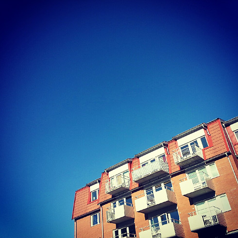 Clear sky in Berghem neighborhood