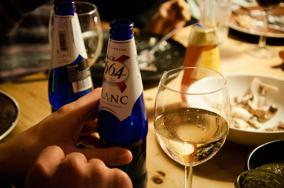 French beer and wine