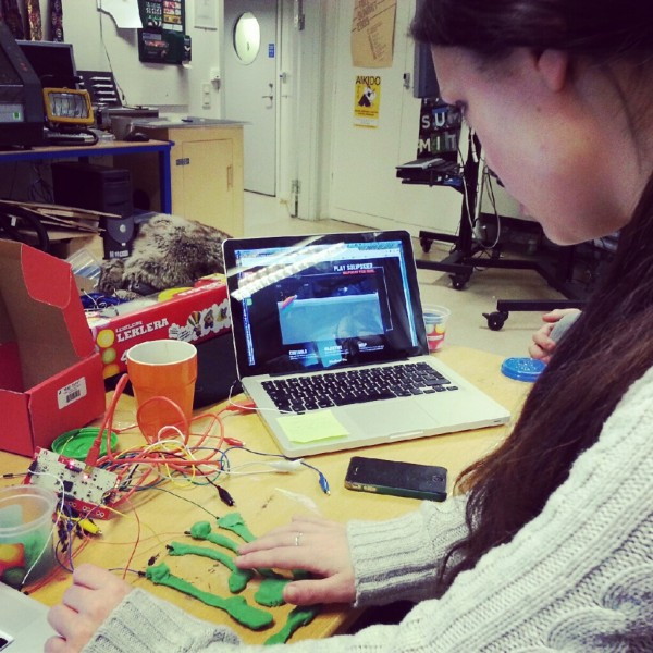 Tinkering with Makey Makey in the Interaction Workshop