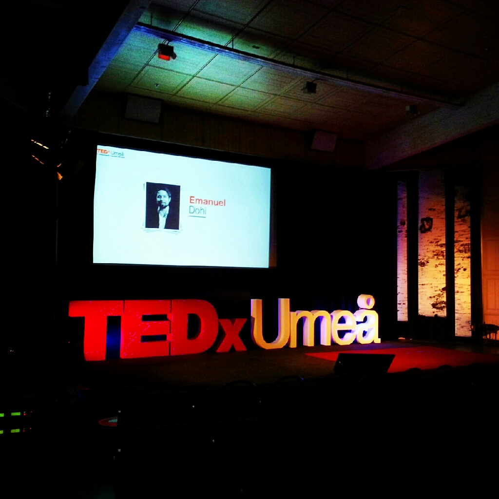 TEDx Umeå at UID