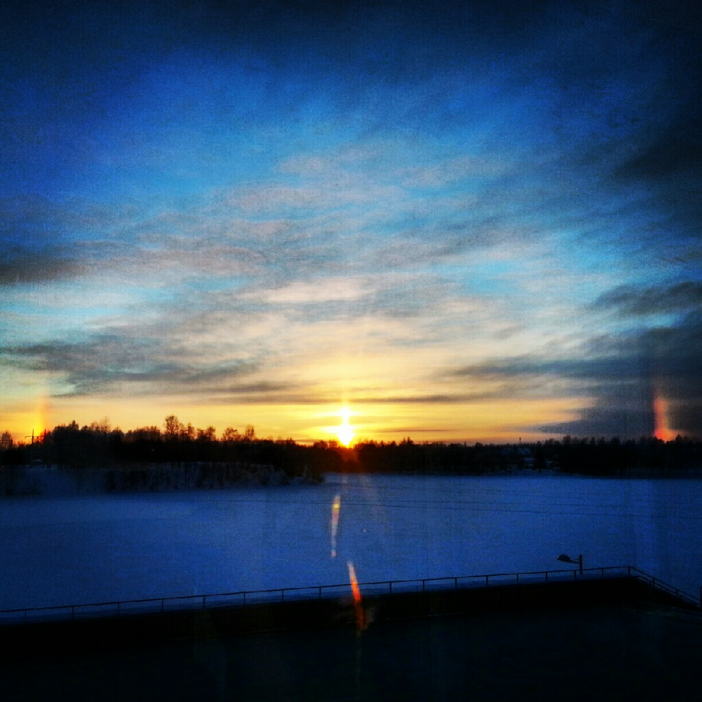 UID Winter Sunset