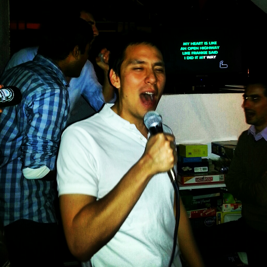 Wednesday karaoke at Le Jet Lag