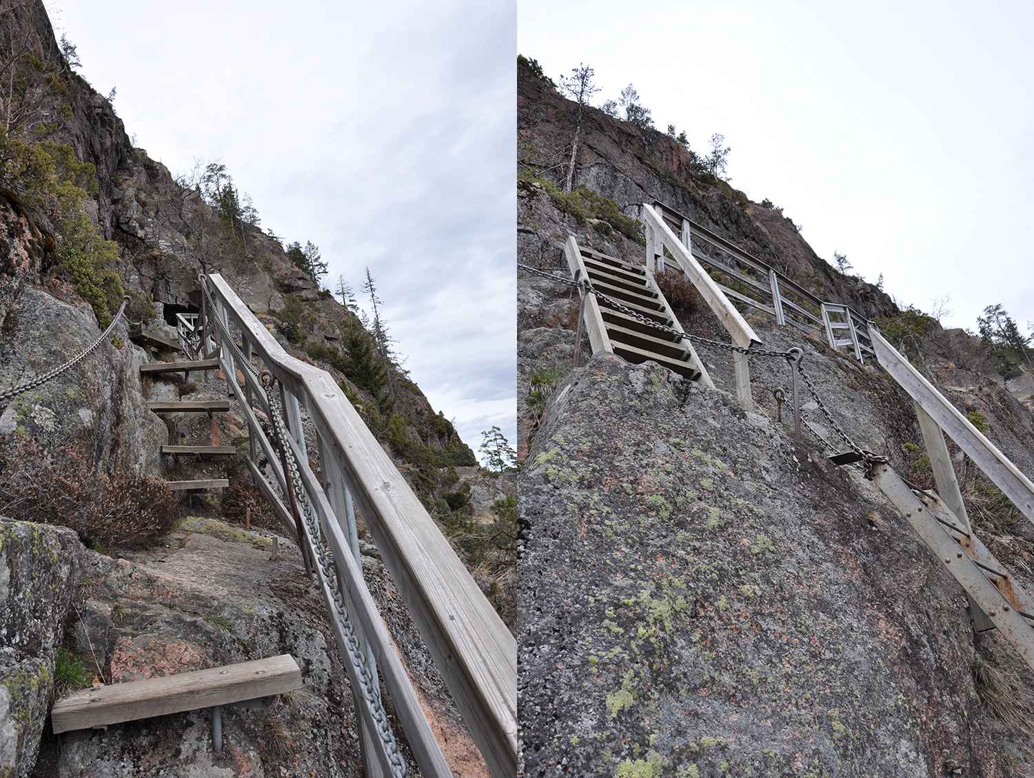 Steps on Skuleberget