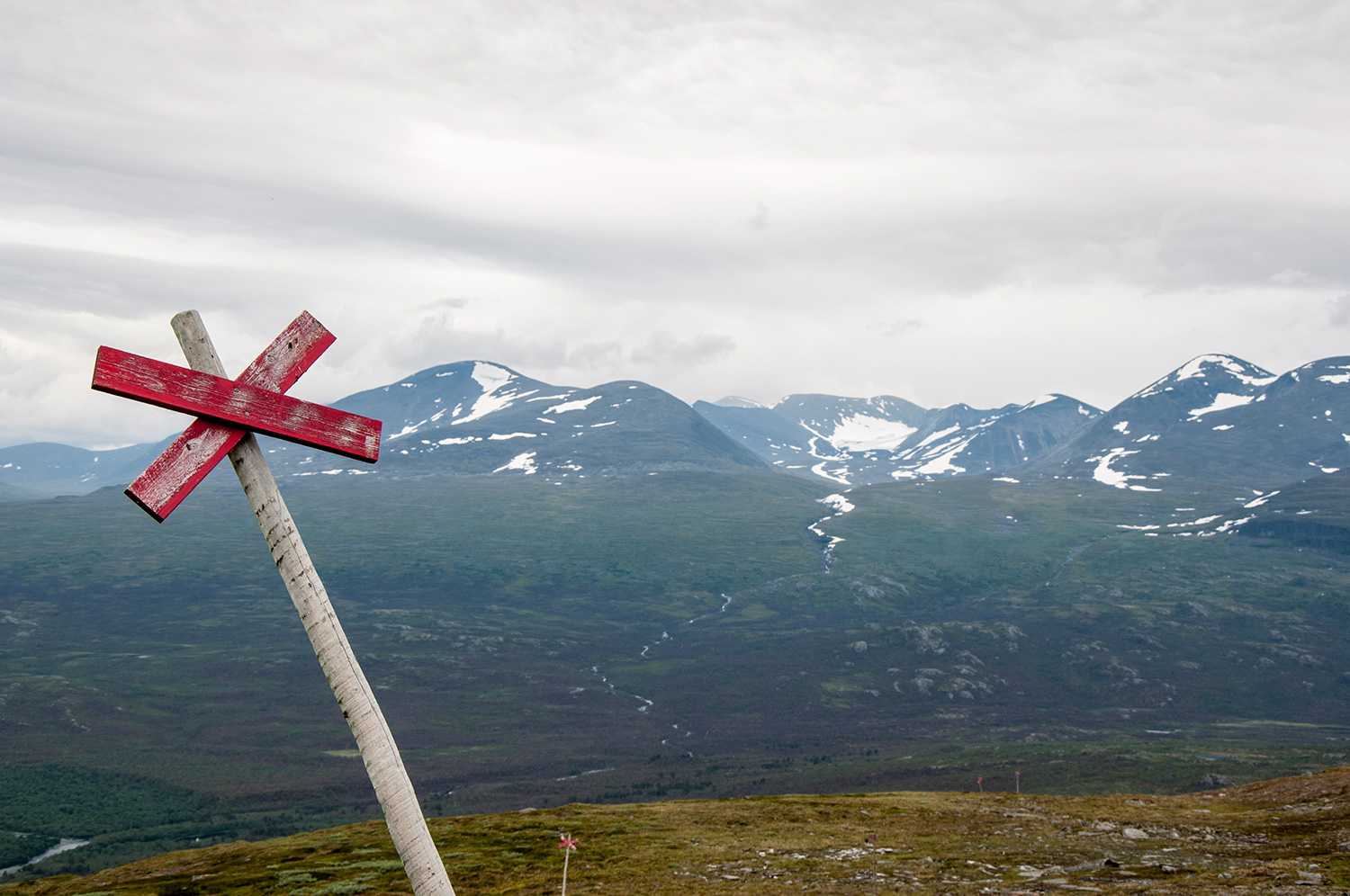 Hiking in Abisko
