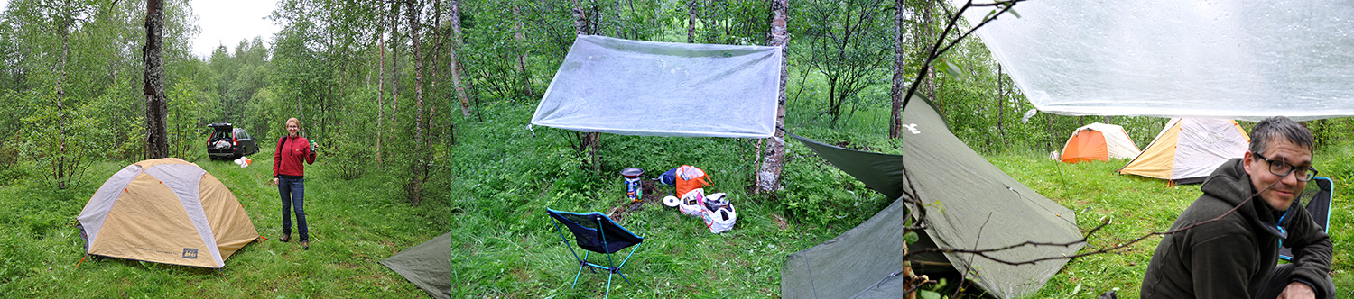 'Wild camping' south of Bodø