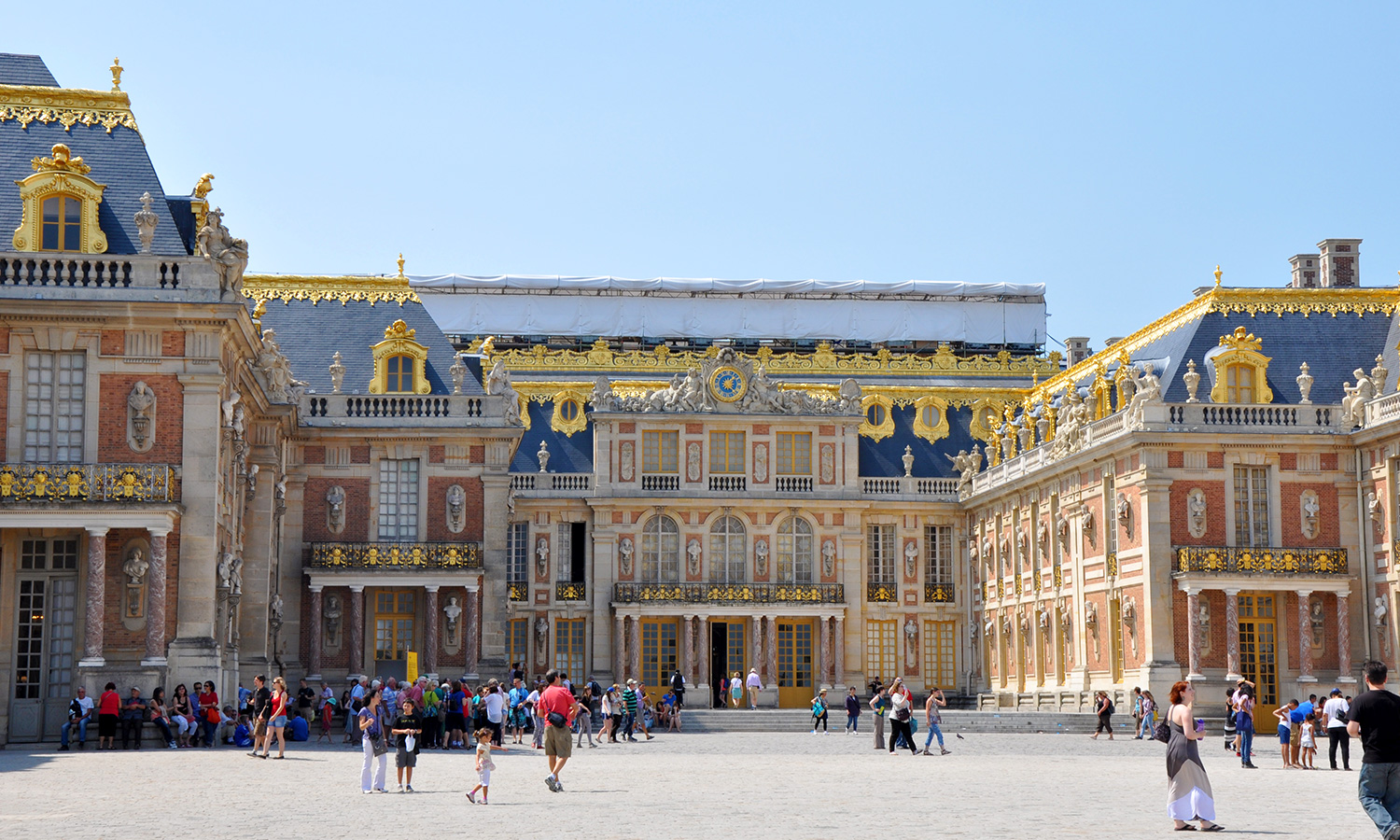 A glimpse of versailles happy spooner for Palace of versailles florida