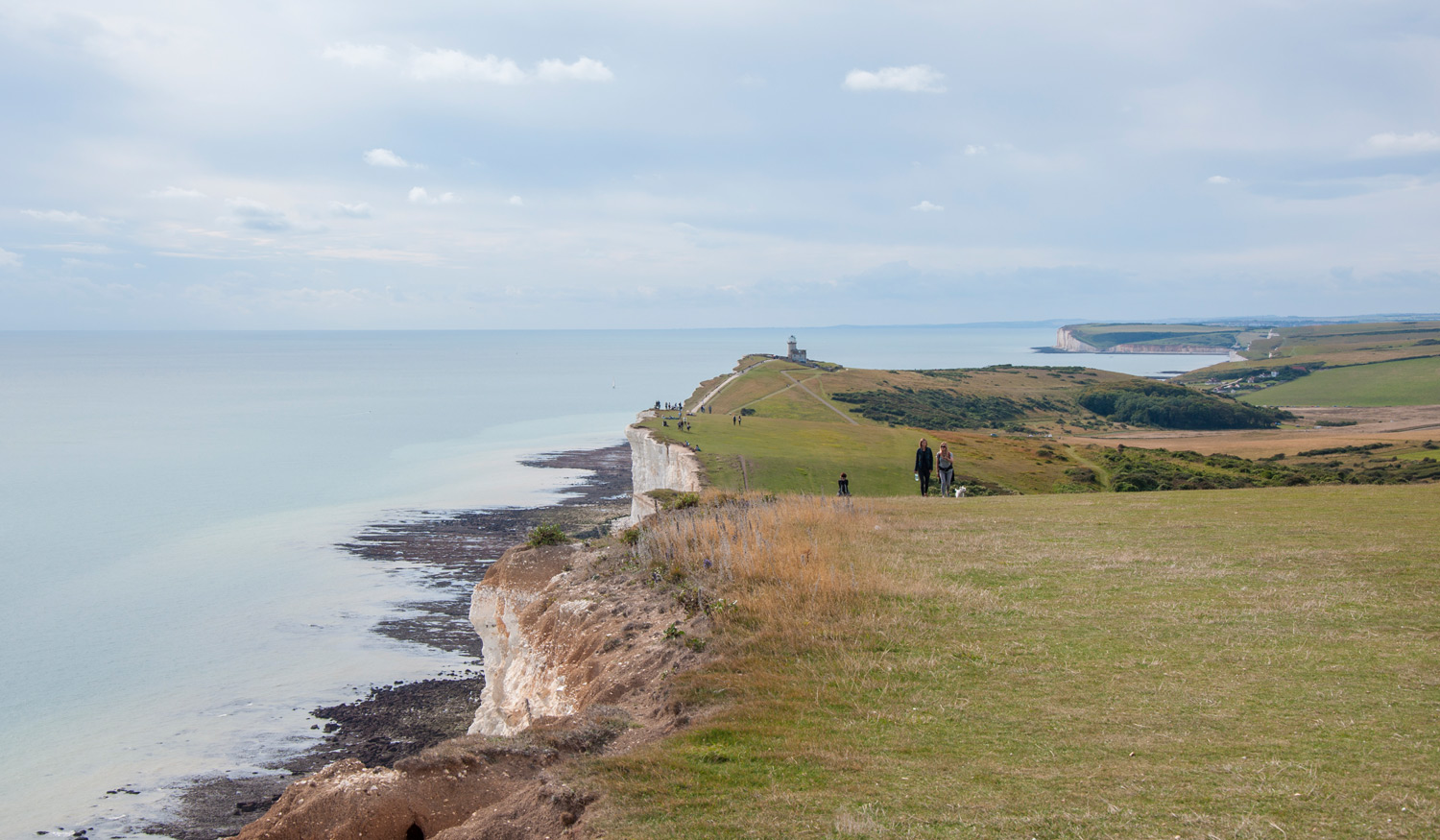 Seven Sisters cliffs from Beachy Head