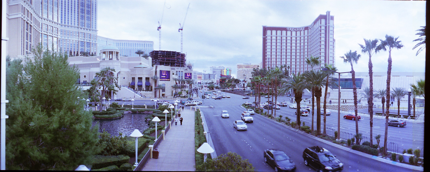 Las Vegas strip during the day