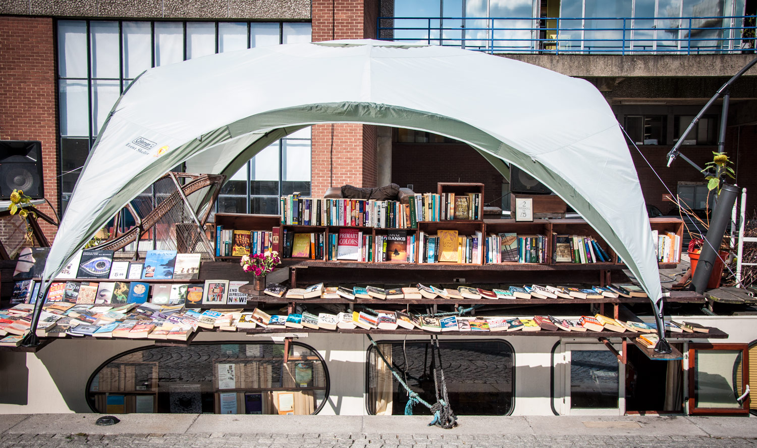 The London Bookbarge near Paddington Basin