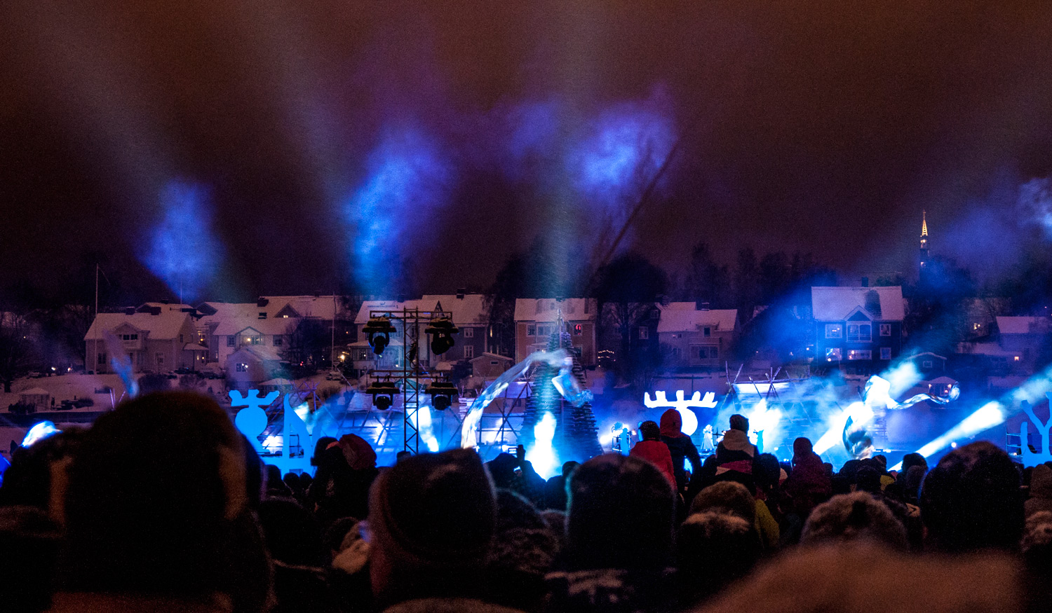 Burning Snow - official inauguration ceremony for Umeå2014