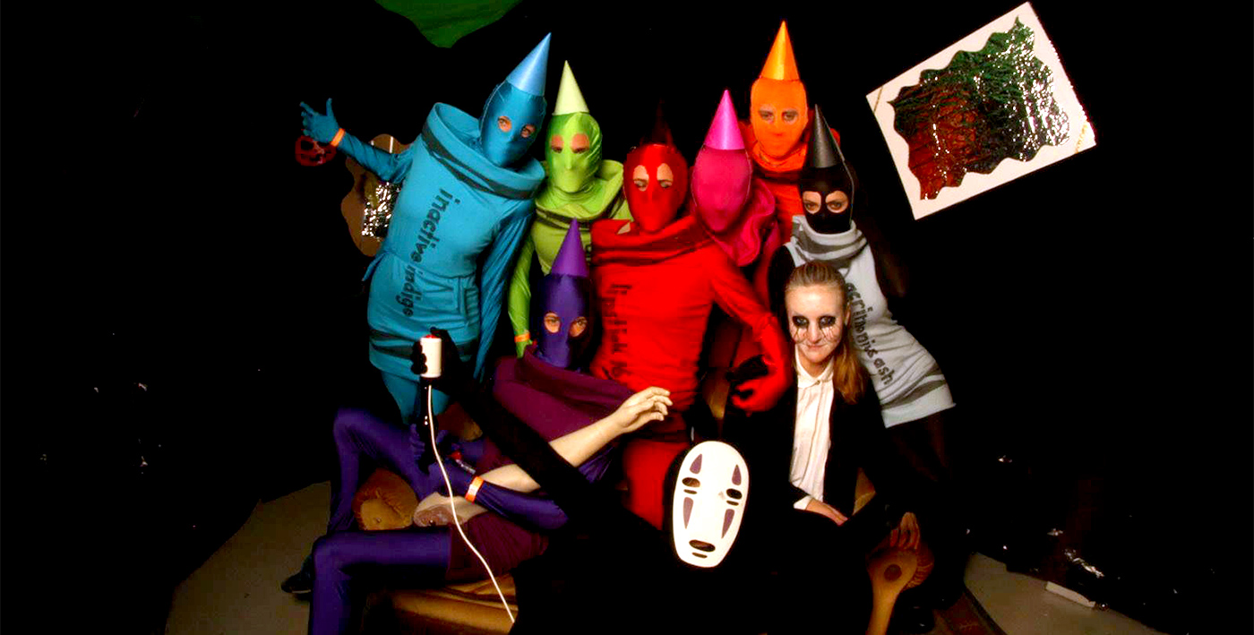 The Seven Deadly Crayons at UID'25 Halloween Party