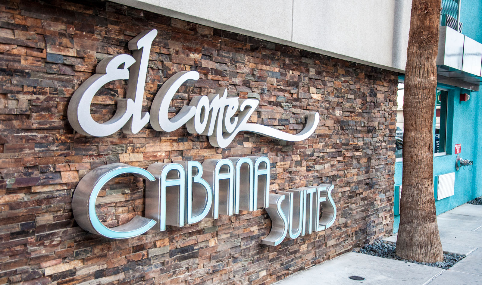 El Cortez Cabana Suites sign