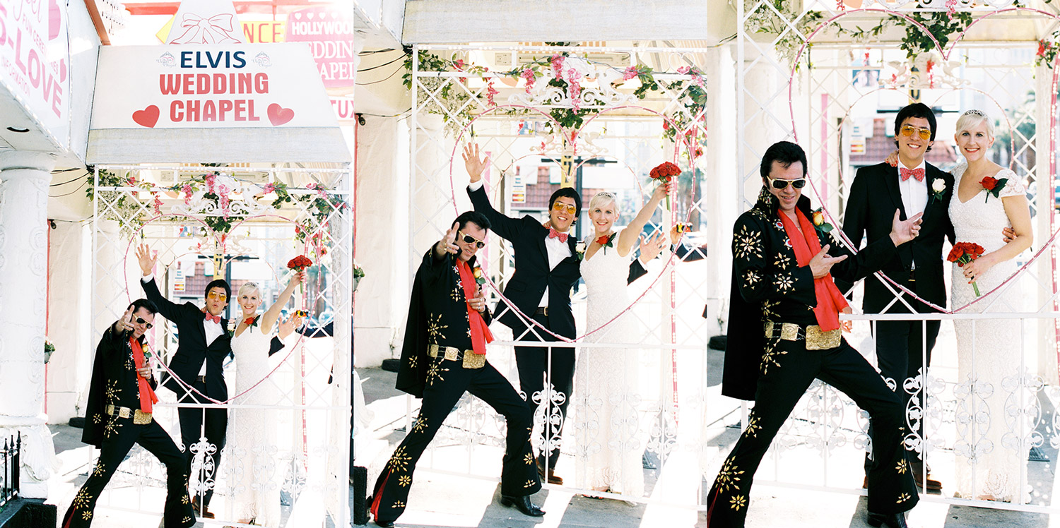 The Little Vegas Chapel - Elvis Wedding