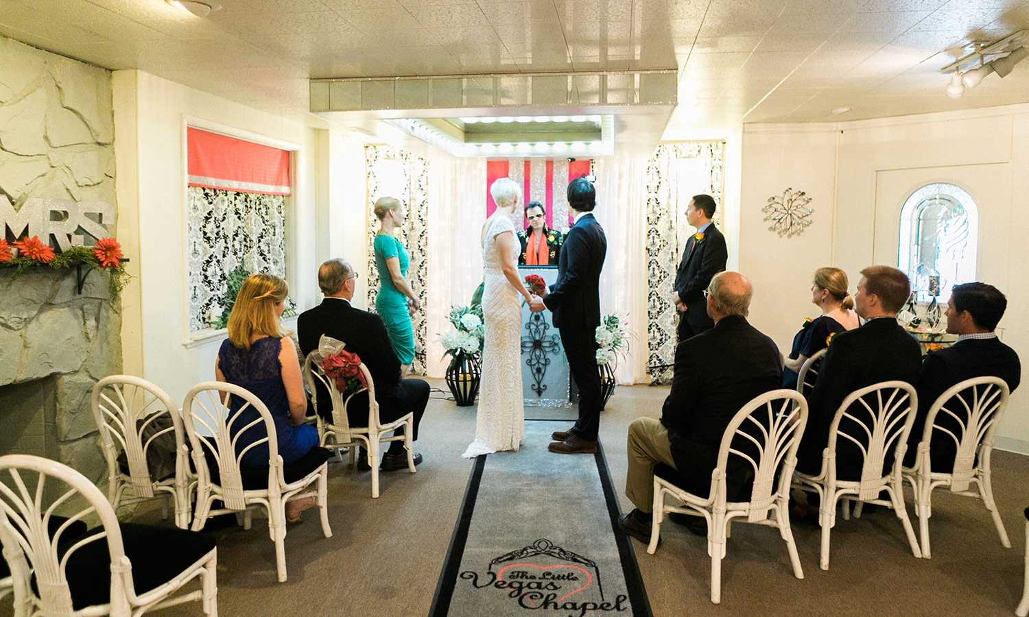 Vows at The Little Vegas Chapel