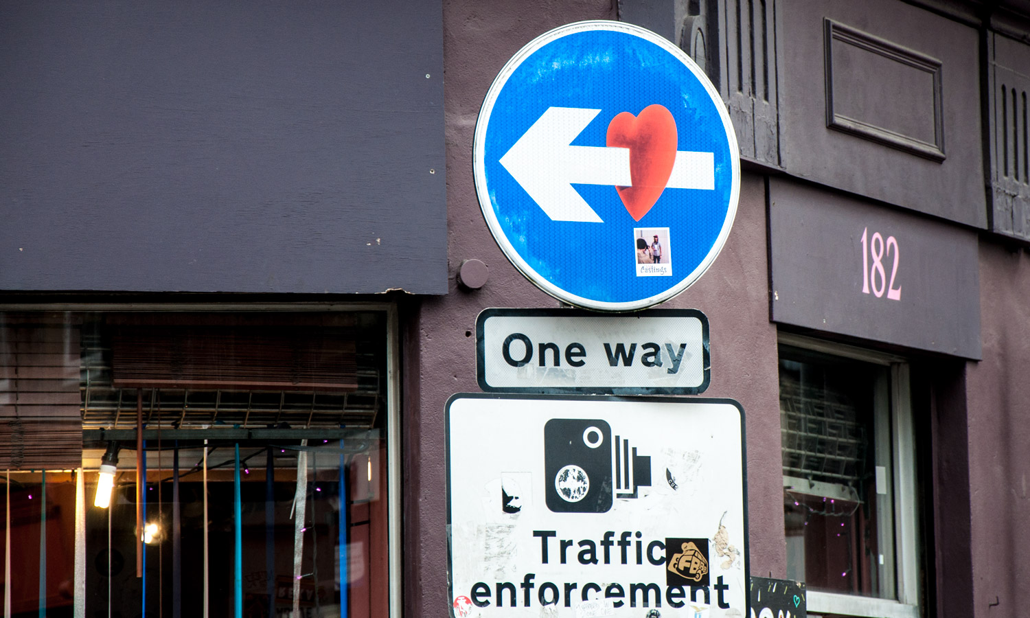 One way heartbreak on Brick Lane