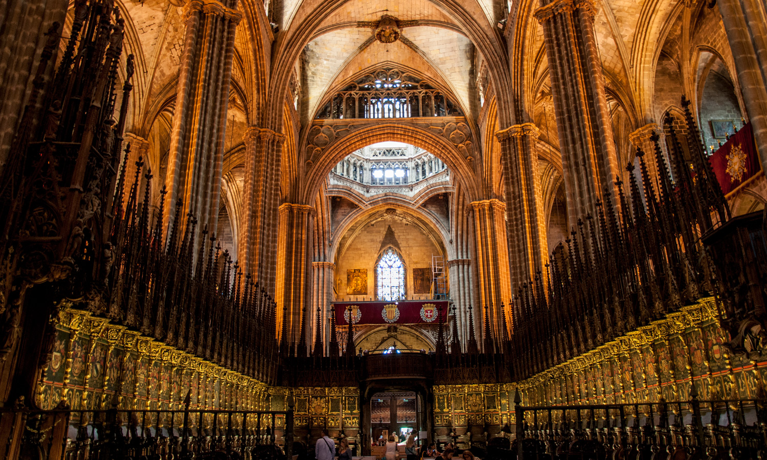 Cathedral of Barcelona interior